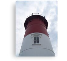 Looking up at Nauset Light in Eastham,MA Canvas Print