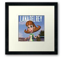 Lana Del Neutron  Framed Print