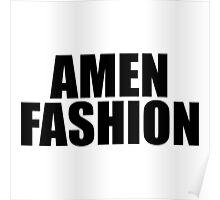 Amen Fashion Poster