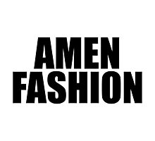 Amen Fashion Photographic Print