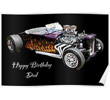 Happy Birthday Dad Poster