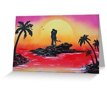 Rise Of Passion Greeting Card