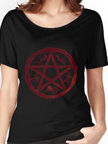 Supernatural Devil's Trap v3.0 Women's Relaxed Fit T-Shirt