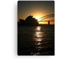 Sydney Harbor Canvas Print