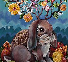 Bountiful Bunny by LyndaBell