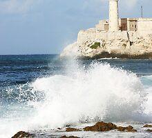 Havana Lighthouse by Adam Booth