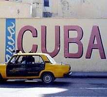 Cuban Cab by Adam Booth