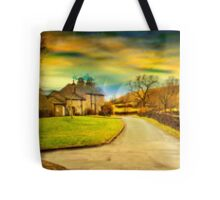 Downham Village & Countryside , full pano.  Tote Bag