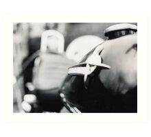 1974 Shovel - Harley Davidson. Art Print