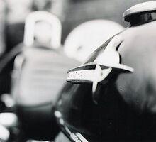 1974 Shovel - Harley Davidson. by RainbowWomanTas