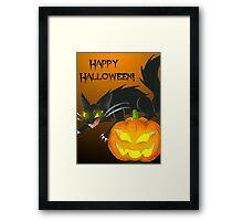 Spooky Duo Framed Print