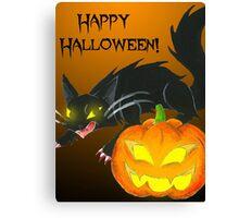 Spooky Duo Canvas Print
