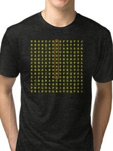 Photographer Word Search Tri-blend T-Shirt