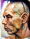 Wes Studi as Magua In The Last Of The Mohicans  by Hidemi Tada