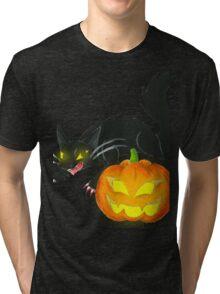 Spooky Duo Tri-blend T-Shirt