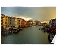 Venice lights Poster