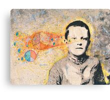 Denny In The Flow Canvas Print