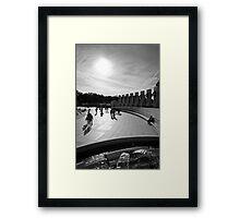Walk Towards The Light Framed Print