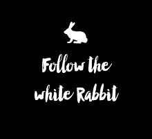 Follow the white rabbit by lunahaze