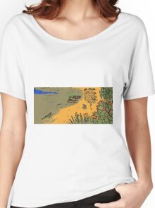 La spiaggia Women's Relaxed Fit T-Shirt