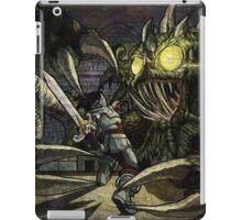 Hero vs Kraken iPad Case/Skin