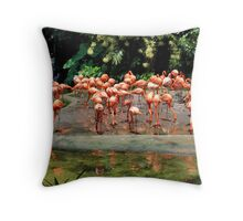 Birds Park 3 Throw Pillow