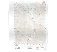 USGS Topo Map Oregon Ruch 20110829 TM Poster