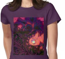 Tahitian Sunset sultry tropical Summer dreamscape Womens Fitted T-Shirt