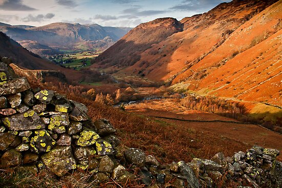 Views down to Borrowdale by Shaun Whiteman