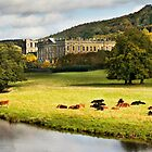 Chatsworth House Peak District Derbyshire by Roy Childs