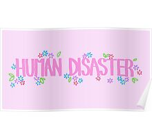 Human Disaster Poster
