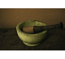 Pestle & Mortar Photographic Print