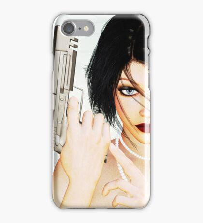 Provocative danger iPhone Case/Skin