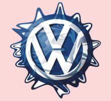 VW look-a-like logo  One Piece - Short Sleeve
