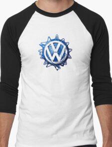 VW look-a-like logo  Men's Baseball ¾ T-Shirt