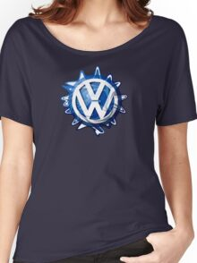 VW look-a-like logo  Women's Relaxed Fit T-Shirt