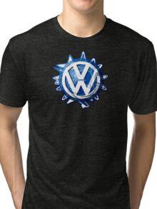 VW look-a-like logo  Tri-blend T-Shirt