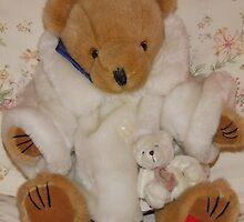 Mrs Bear in her fur coat by AnnDixon