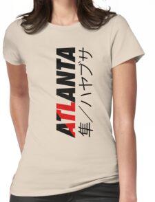 ATL Atlanta (Japanese Version) Womens Fitted T-Shirt
