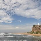 Nobby's Lighthouse From the Other Side! by Bev Woodman