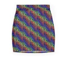 Peace Rainbow.  Mini Skirt
