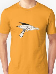 RETRO ASTRO RAYGUN SPACE Science Fiction T-Shirt