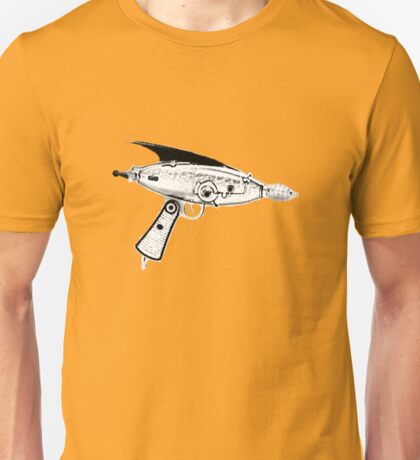 RETRO ASTRO RAYGUN SPACE Science Fiction Unisex T-Shirt