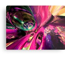 Psychedelic Fun House Abstract Metal Print
