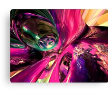 Psychedelic Fun House Abstract Canvas Print
