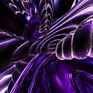 Purple Delusions Abstract by Alexander Butler