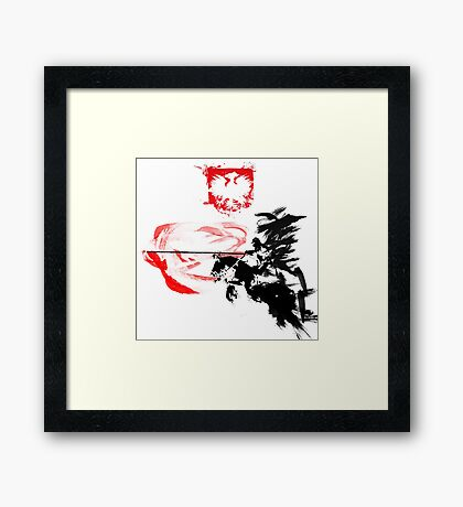 Polish Hussar Framed Print