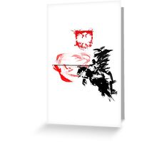 Polish Hussar Greeting Card