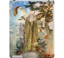 Merlin the wizard iPad Case/Skin