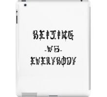Beijing VS everybody iPad Case/Skin